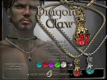 ※Dragon Claw - Mens Necklace