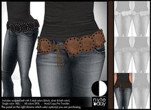 Nyte'N'Day - Ginger Belt - Dark Brown