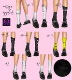 VOND OMEGA Applier SHORT SOCKS -BadGirl #8