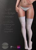 """CHAMELEON - Gift Stockings """"Snow""""  for body  Maitreya and Omega"""