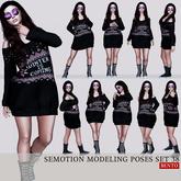 [Box] SEmotion Female Bento Modeling poses Set 38