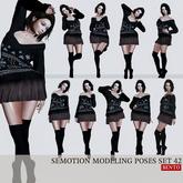 SEmotion Female Bento Modeling poses Set 42 - 10 static poses