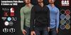 GAS [Men's Polo Shirt Marc - 8 Colors w/HUD FATPACK]