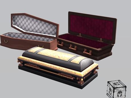 *MG* Coffins Set pack