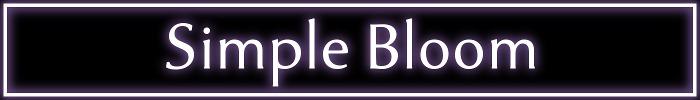 Simplebloom banner 700x100 %28tenderness font%29 02.01.2019