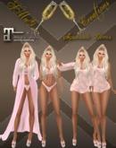 SMuG Spring Pink Lace Lingerie Set