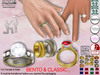 [SuXue Mesh] DEMO Alara For Bento & Classic Hands UnRigged Wedding Rings & Bands Hud Resize Proposal Pose Female & Male