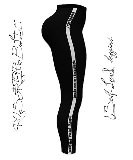 RUST REPUBLIC [Self-Luv] Leggins Black
