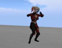 Harley Quinn animesh dancer