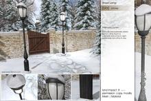 Sway's [Ula] Street Lamp . snowy