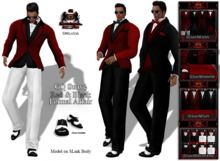 GQ Suave Red & Black Formal Affair - by 69 Park Ave GQ