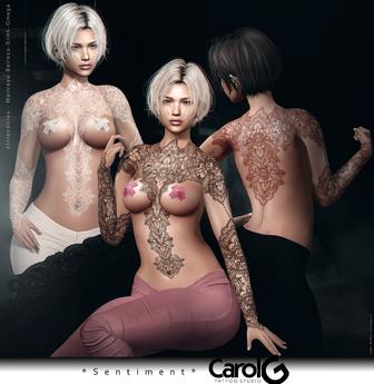 Sentiment - Henna Tattoo Applier [CAROL G]