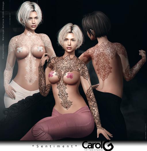 Sentiment - Black Tattoo Applier [CAROL G]