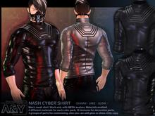 A&Y Nash Cyber Shirt - Black