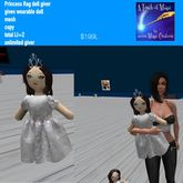 Princess Rag Doll giver -BOX