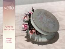 Giftbox Shabby rose