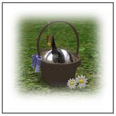 Ozimals Bunny Basket  (f) - Belle Belle Furniture