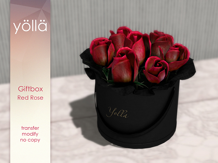 Giftbox Red rose
