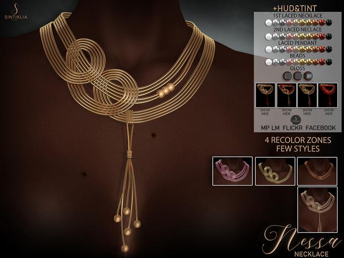 .Sintiklia - Nessa necklace