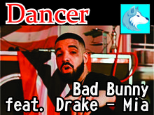 Targaryen Shop Bad Bunny feat. Drake - Mia (DANCER ) BOXED