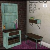 The Jewel Garden - Shabby Table - Teal
