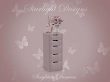Starlight Designs - Singleton Drawers.