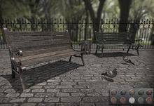 [ kunst ] - Cast iron park bench (PG)