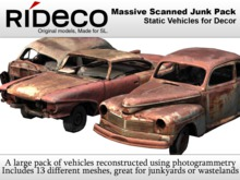 RiDECO - Massive Scanned Junk Pack