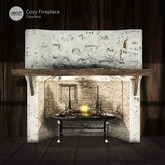 Concept} *COZY. FIREPLACE