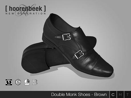 Double Monk Shoes - DEMO