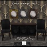 The Jewel Garden - Deco Lounge Set