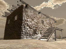 Afghan House 2 Mesh