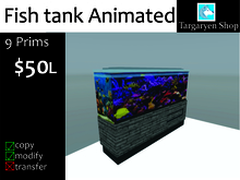 Targaryen Shop - Fish tank Animated BOXED