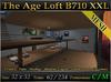 The Age Loft B710 XXL - Loft Skybox w/ Rooftop - Mesh