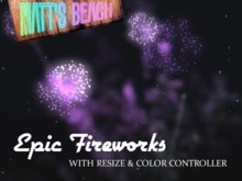 Epic Fireworks - Colorable, Resizable, Ultra-realistic