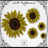 The Jewel Garden - Wall Sunflowers