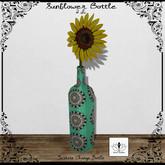 The Jewel Garden - Sunflower Bottle
