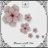 The Jewel Garden - Flower Wall Art