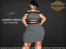 RML CANDICE DRESS(HUDDED--PATTERNS)