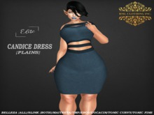 RML CANDICE DRESS(HUDDED--PLAINS)