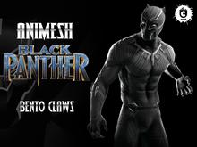 :: UCM :: Black Panther Animesh - Bento