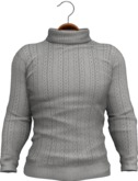 !APHORISM! Tyler Winter Sweater - Grey