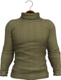 !APHORISM! Tyler Winter Sweater - Olive