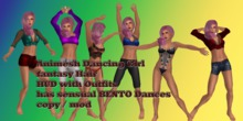 Animesh Dancing Girl Fantasy Hair