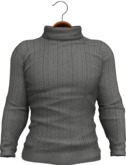 !APHORISM! Tyler Winter Sweater - Charcoal