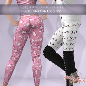 !PCP :: Kore Leggings [Unicorn Pack]