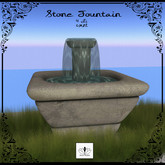 The Jewel Garden - Stone Fountain