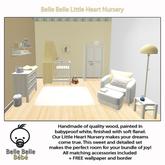 Baby Nursery Yellow - Belle Belle Furniture