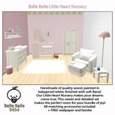 baby Nursery Pink - Belle Belle Furniture