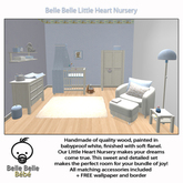 Baby Nursery Blue - Belle Belle Furniture